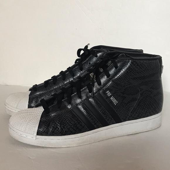 adidas shoes superstar pro model snake embossed sneaker. Black Bedroom Furniture Sets. Home Design Ideas